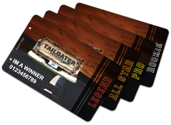 Gaming Cards by Tailgater Tavern